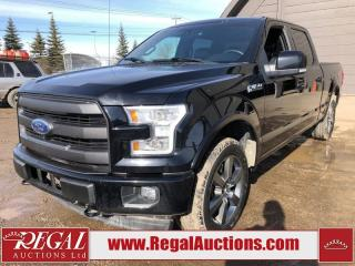 Used 2017 Ford F-150 LARIAT CREW CAB 4WD for sale in Calgary, AB