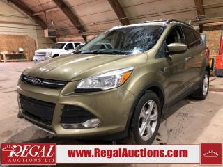 Used 2013 Ford Escape SE 4D Utility FWD for sale in Calgary, AB