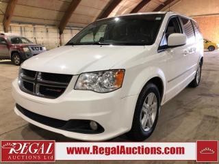 Used 2017 Dodge Grand Caravan Crew 4D SPORTS VAN for sale in Calgary, AB