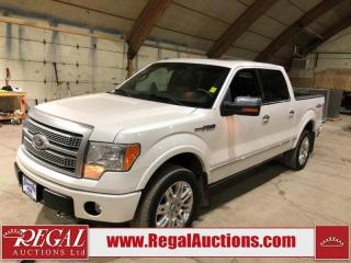 Used 2010 Ford F-150 Platinum Crew Cab 4WD for sale in Calgary, AB
