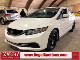 Used 2015 Honda Civic 4D Sedan for sale in Calgary, AB