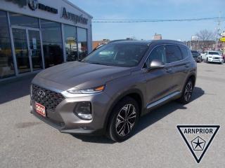 Used 2019 Hyundai Santa Fe Ultimate 2.0 for sale in Arnprior, ON