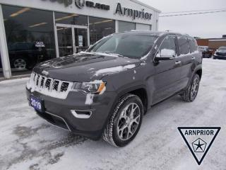 Used 2019 Jeep Grand Cherokee LIMITED 4X4 for sale in Arnprior, ON