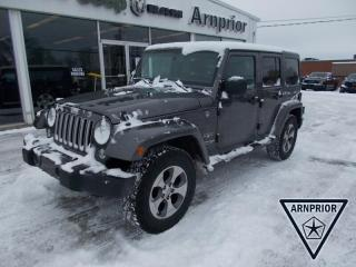 Used 2018 Jeep Wrangler JK Unlimited Sahara for sale in Arnprior, ON