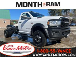 New 2021 RAM 5500 Chassis Tradesman 4X4...BACKUP CAM*BLUETOOTH*REMOTE ENTRY! for sale in Bancroft, ON