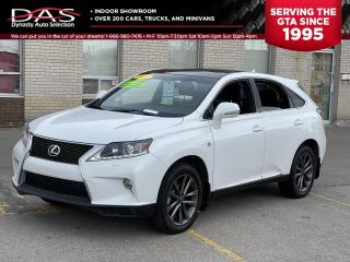 Used 2013 Lexus RX 350 F Sport AWD Navigaton/Sunroof/Heads Up Display for sale in North York, ON