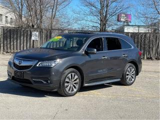 Used 2014 Acura MDX NAV PKG AWD NAVIGATION/REAR VIEW CAMERA/7 PASS for sale in North York, ON