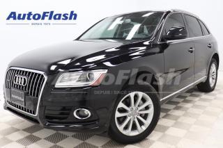 Used 2015 Audi Q5 TECHNIK *2.0T *BLIND-SPOT *GPS/CAMERA *TOIT-PANO for sale in Saint-Hubert, QC