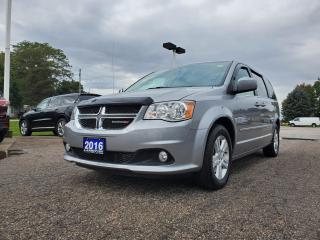 Used 2016 Dodge Grand Caravan CREW with LOW KM for sale in Petrolia, ON
