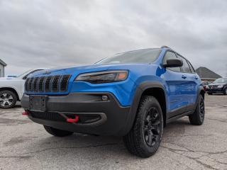 New 2020 Jeep Cherokee Trailhawk Elite for sale in Petrolia, ON