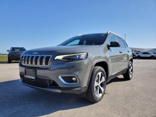 New 2020 Jeep Cherokee Limited for sale in Petrolia, ON