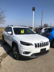 New 2021 Jeep Cherokee Limited for sale in Petrolia, ON