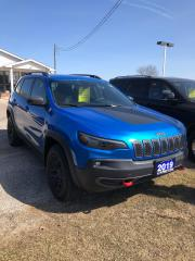 Used 2019 Jeep Cherokee Trailhawk One Owner Originally Sold New By Us for sale in Petrolia, ON
