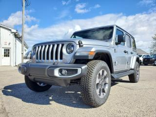 New 2021 Jeep Wrangler Unlimited Sahara for sale in Petrolia, ON