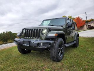 New 2021 Jeep Wrangler Unlimited Sahara Altitude for sale in Petrolia, ON