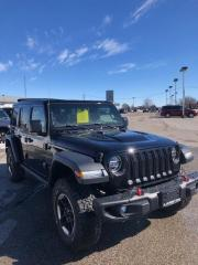 Used 2020 Jeep Wrangler Unlimited Rubicon POWER SKYTOP for sale in Petrolia, ON