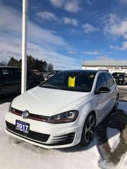 Used 2017 Volkswagen Golf GTI Autobahn for sale in Petrolia, ON