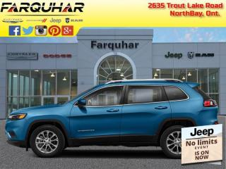 New 2021 Jeep Cherokee Trailhawk Elite for sale in North Bay, ON