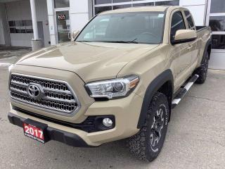 Used 2017 Toyota Tacoma 4WD Access Cab V6 Auto SR5 for sale in North Bay, ON
