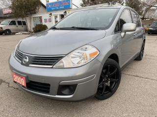 Used 2009 Nissan Versa 5dr HB I4 1.8 ACCIDENT FREE! 2 sets of tires for sale in Brampton, ON