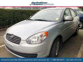 Used 2010 Hyundai Accent L for sale in North Vancouver, BC