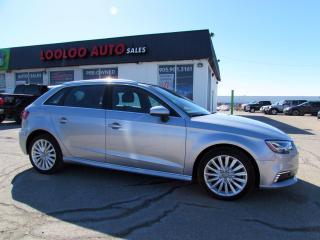 Used 2017 Audi A3 e-tron Prestige Navigation System*Blind Spot*ONE OWNER*NO ACCIDENTS for sale in Milton, ON
