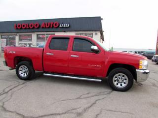 Used 2012 Chevrolet Silverado 1500 LS Crew Cab 4WD Certified for sale in Milton, ON