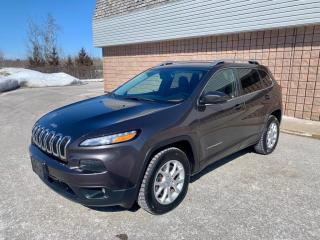 Used 2016 Jeep Cherokee NORTH | 4WD | V6 | BACKUP CAM | REMOTE START for sale in Barrie, ON
