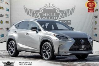 Used 2017 Lexus NX 200t F SPORT 2, AWD, NAVI, REAR CAM, B.SPOT, SUNROOF for sale in Toronto, ON