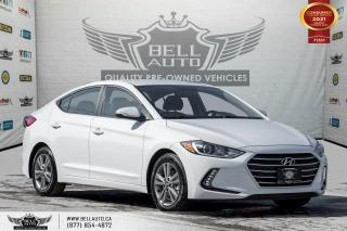 Used 2017 Hyundai Elantra GL, NO ACCIDENT, REAR CAM, B.SPOT, SENSORS, ALLOY for sale in Toronto, ON
