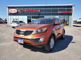 Used 2012 Kia Sportage LX FWD *PRICED TO SELL* for sale in Sarnia, ON