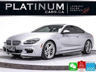 Used 2017 BMW 6 Series 650i xDrive, COUPE, MSPORT, DRIVING ASSITANCE, 360 for sale in Toronto, ON