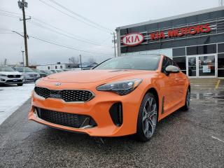 New 2021 Kia Stinger GT Limited - Neon Orange for sale in Sarnia, ON