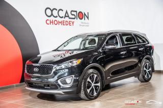 Used 2017 Kia Sorento EX GDI AWD+VOLANT/SIEGES CHAUFFANTS+CUIR for sale in Laval, QC