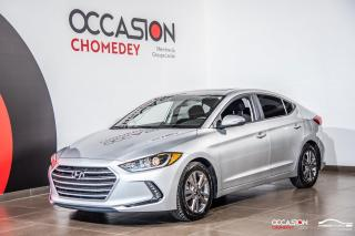 Used 2018 Hyundai Elantra GLS+TOIT+VOLANT/SIEGES CHAUFFANTS+APPLE CARPLAY for sale in Laval, QC
