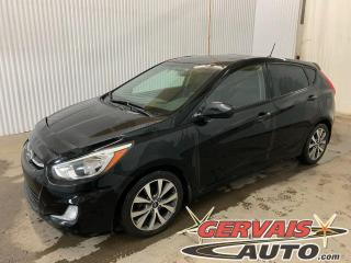 Used 2017 Hyundai Accent SE Toit Ouvrant Caméra Bluetooth Mags *Transmission Automatique* for sale in Trois-Rivières, QC