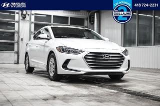 Used 2018 Hyundai Elantra L chez Rimouski hyundai for sale in Rimouski, QC