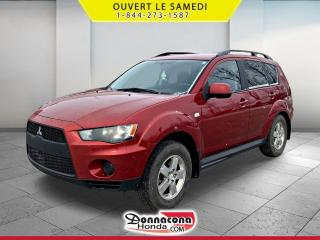 Used 2010 Mitsubishi Outlander ES 4RM *JAMAIS ACCIDENTE* for sale in Donnacona, QC