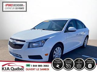 Used 2014 Chevrolet Cruze LT * BLUETOOTH *AC * TRES PROPRE * for sale in Québec, QC