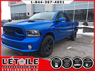 Used 2018 RAM 1500 Sport cabine d'équipe 4x4 for sale in Jonquière, QC
