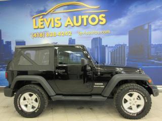 Used 2018 Jeep Wrangler SPORT 4X4 54900KM JAMAIS ACCIDENTE MANUE for sale in Lévis, QC