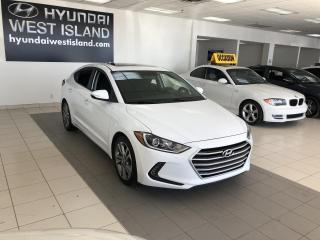 Used 2017 Hyundai Elantra GLS AUTO MAGS TOIT CAMÉRA A/C BT CRUISE for sale in Dorval, QC