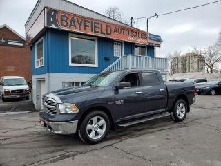 Used 2015 RAM 1500 SLT Crew Cab 4x4 **EcoDiesel/Reverse Cam** for sale in Barrie, ON