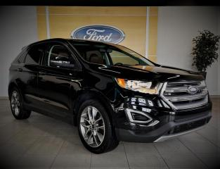 Used 2016 Ford Edge TITANIUM - CUIR/TOIT/20'' - BAS PRIX for sale in Drummondville, QC