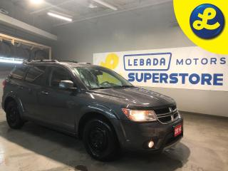 Used 2014 Dodge Journey Limited * 7 Passenger * V6 * Over Head DVD Player W/UConnect Remote/Wireless Headphones * 6 Premium Speakers w/Subwoofer 368 Watt Amplifier * Push But for sale in Cambridge, ON