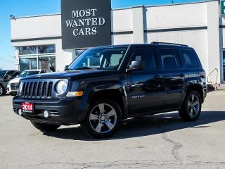 Used 2014 Jeep Patriot SPORT|LEATHER|SUNROOF|ALLOYS - AS TRADED, YOU CERTIFY, YOU SAVE!! for sale in Kitchener, ON