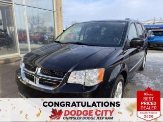Used 2017 Dodge Grand Caravan Crew Plus  Leather   Htd Seats   Remote Start   B/U for sale in Saskatoon, SK
