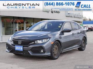 Used 2019 Honda Civic Hatchback Sport-LOW MILES,LIKE NEW,HONDA SENSING for sale in Sudbury, ON