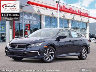 New 2021 Honda Civic Sedan EX for sale in Sudbury, ON