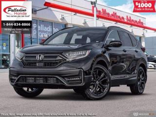 New 2021 Honda CR-V Black Edition for sale in Sudbury, ON